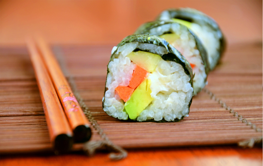 Sushi για υγεια!
